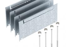 7410158 - OBO BETTERMANN Комплект для регулирования высоты монтажного основания UZD250 (сталь,215+55 мм) (ASH250-3 215270).