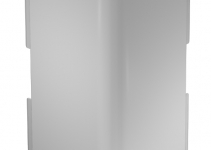 6160980 - OBO BETTERMANN Крышка внешнего угла кабельного канала WDK 60x230 мм (ПВХ,кремовый) (WDK HA60230CW).