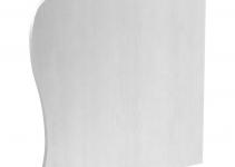 6115925 - OBO BETTERMANN Торцевая заглушка правая дизайнерского канала тип Swing (алюминий) (GAD ER Swing EL).