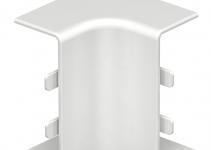 6154360 - OBO BETTERMANN Крышка внутреннего угла кабельного канала WDK 20x50 мм (ПВХ,белый) (WDK HI20050RW).