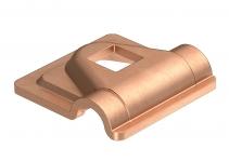 5311530 - OBO BETTERMANN Крепежный зажим для проволоки  * (249 8-10 CU-OT).