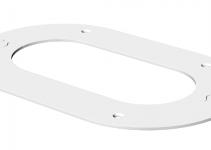 6290260 - OBO BETTERMANN Потолочная рамка для электромонтажной колонны (сталь,белый) (WAG70140O).