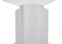 6024505 - OBO BETTERMANN Крышка внутреннего угла кабельного канала WDK 100x230 мм (ПВХ,серый) (WDK HI100230GR).