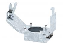 7407665 - OBO BETTERMANN Монтажная рамка без розетки CEE (длина 165 мм) 175x75x128 мм (сталь) (GT2CEE).