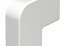 6154212 - OBO BETTERMANN Крышка плоского угла кабельного канала WDK 10x20 мм (ПВХ,белый) (WDK HF10020RW).
