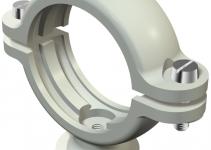 2130289 - OBO BETTERMANN Крепежная скоба (клипса) цокольная 25,5-28мм (2960 28 M6 LGR).