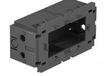 6288583 - OBO BETTERMANN Монтажная коробка двойная Modul45 71GD13 (полиамид,серый) (71GD13).