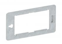 6108039 - OBO BETTERMANN Суппорт для установки устройств Modul45 в распределитель UVS (сталь) (CP45-TP M).