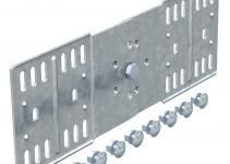 7082436 - OBO BETTERMANN Шарнирный соединитель кабельного листового лотка 110x300 (RGV 110 FT).