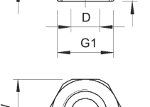2030713 - OBO BETTERMANN Переходник PG13,5-PG9 (107 R PG13- 9 PA).
