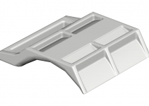 1197703 - OBO BETTERMANN Пластина для U-образной скобы 64-70мм (2058FW 70 LGR).