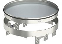 7409160 - OBO BETTERMANN Кассетная рамка RKRN2UZD3 ном.размер R9 ø 305 мм (сталь) (RKRN2UZD3R9VS25).