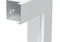 6248428 - OBO BETTERMANN Плоский угол с крышкой кабельного канала LKM 80x80 мм (сталь,белый) (LKM F80080RW).