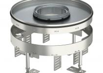 7409468 - OBO BETTERMANN Усиленная кассетная рамка RKFR2 ном.размер 7 SL2 ø 275 мм (сталь) (RKFR2 7 SL2V2 25).