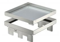 7409068 - OBO BETTERMANN Кассетная рамка RKN2 UZD3 ном.размер 9 243x243 мм (сталь) (RKN2 UZD3 9VS25).