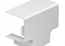 6182917 - OBO BETTERMANN Крышка Т-образной секции кабельного канала WDK 40x40 мм (ПВХ,светло-серый) (WDK HT40040LGR).