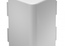 6022189 - OBO BETTERMANN Крышка внешнего угла кабельного канала WDK 60x170 мм (ПВХ,серый) (WDK HA60170GR).