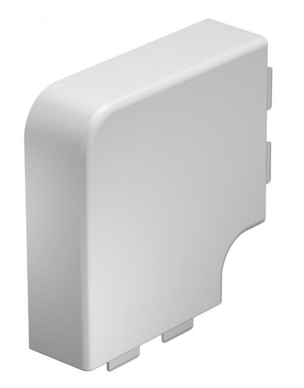 6021743 - OBO BETTERMANN Крышка плоского угла кабельного канала WDK 40x110 мм (ПВХ,серый) (WDK HF40110GR).