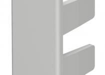 6158722 - OBO BETTERMANN Торцевая заглушка кабельного канала WDK 15x40 мм (ПВХ,серый) (WDK HE15040GR).