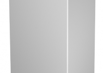 6183921 - OBO BETTERMANN Торцевая заглушка кабельного канала WDK 80x210 мм (ПВХ,светло-серый) (WDK HE80210LGR).