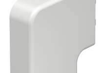 6152686 - OBO BETTERMANN Крышка плоского угла кабельного канала WDK 20x50 мм (ПВХ,кремовый) (WDK HF20050CW).