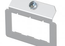 7407832 - OBO BETTERMANN Суппорт для установки модулей в монтажную рамку MTU тип E (сталь) (MTM 3E).