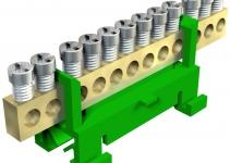 2054094 - OBO BETTERMANN Клемма защитного провода желто-зеленая 12x16мм2 (60 S 12x16 GBGN).