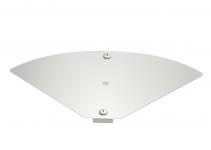 6040826 - OBO BETTERMANN Крышка для угловой секции кабельного листового лотка Magic 304x484 (DFBMV 300 VA4571).
