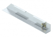 7404762 - OBO BETTERMANN Торцевая заглушка кабельного канала AIK левая (сталь) (AIK ESL 25040).