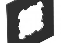 7408444 - OBO BETTERMANN Крышка для напольного бокса Telitank на 1 устройство EKR (полиамид,черный) (T8NL P1 9011).