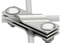5001612 - OBO BETTERMANN Соединитель стержня заземления и проволоки (2760 8).