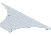 6231922 - OBO BETTERMANN Крышка T-образного / крестового соединения 200мм (WAAD 200 DD).
