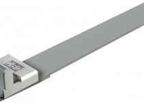 6490158 - OBO BETTERMANN Натяжная лента с фиксатором 550x16,5x1,2 (574 05 55 GNBG).