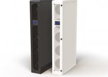 AC-TDX-42-30/100-BOD-1300H0000 - Кондиционер CoolTeg Plus DX (непосредственного охлаждения, компрессор во внешнем блоке), с электронно-коммутируемыми вентиляторами;  открытая архитектура охлаждения, ВхШхГ: 42Uх300х1000 мм; со встроенным цветным сенсорным