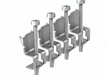 7407558 - OBO BETTERMANN Универсальный комплект крепежных уголков для 4 точек фиксации (сталь, 4 шт.) (GES UB4).