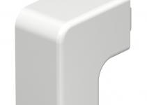 6161235 - OBO BETTERMANN Крышка плоского угла кабельного канала WDK 25x25 мм (ПВХ,кремовый) (WDK HF25025CW).