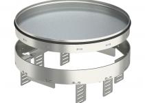 7409150 - OBO BETTERMANN Кассетная рамка RKRN2UZD3 ном.размер R7 ø 275 мм (сталь) (RKRN2UZD3R7VS25).