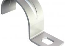 1003046 - OBO BETTERMANN Крепежная скоба (клипса) металл. однолапковая 4мм (604 4 G).