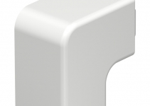 6161278 - OBO BETTERMANN Крышка плоского угла кабельного канала WDK 30x30 мм (ПВХ,кремовый) (WDK HF30030CW).