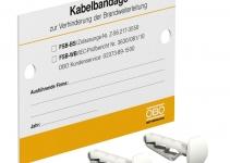 7203140 - OBO BETTERMANN Маркировочная табличка (KS-FSB DE).