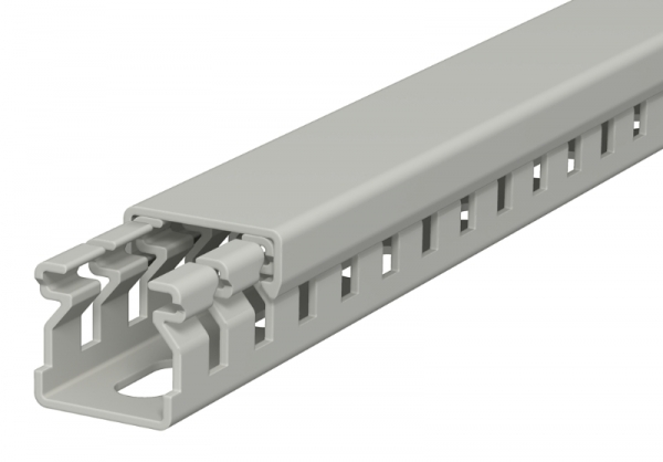6178001 - OBO BETTERMANN Распределительный кабельный канал LK4 15x15x2000 мм (ПВХ,серый) (LK4 15015).