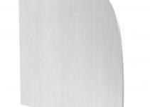 6115935 - OBO BETTERMANN Торцевая заглушка левая дизайнерского канала тип Soft (алюминий) (GAD EL Soft EL).