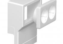 6199427 - OBO BETTERMANN Монтажная рамка для кабельного канала SKL (ПВХ,буковый) (SKL-DS DBU).
