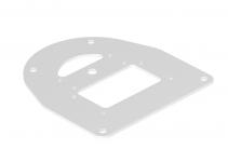 6290330 - OBO BETTERMANN Напольная пластина для электромонтажной колонны (сталь,белый) (ISSBP110100RW).