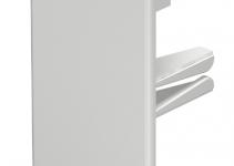 6183751 - OBO BETTERMANN Торцевая заглушка кабельного канала WDK 40x110 мм (ПВХ,светло-серый) (WDK HE40110LGR).