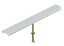 7424960 - OBO BETTERMANN Стыковая опора крышки канала OKA-W 400 мм (сталь) (DSU2 400 6050).