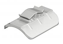 1195409 - OBO BETTERMANN Пластина для U-образной скобы 34-40мм (2058 40 LGR).