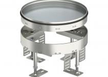 7409072 - OBO BETTERMANN Усиленная кассетная рамка RKR2 ном.размер 4 SL2  200x200 мм (сталь) (RKR2 4SL2 V2 20).