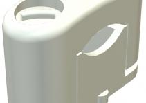 2124254 - OBO BETTERMANN Крепежная скоба (клипса) 15-25мм (3081 LGR).