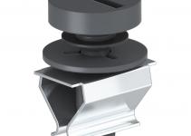 7408507 - OBO BETTERMANN Механизм замка VT для лючка GRAF9 (полиамид,черный) (VTGRAF9 9011).